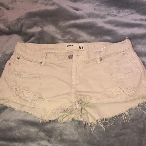 Garage shorts size 7